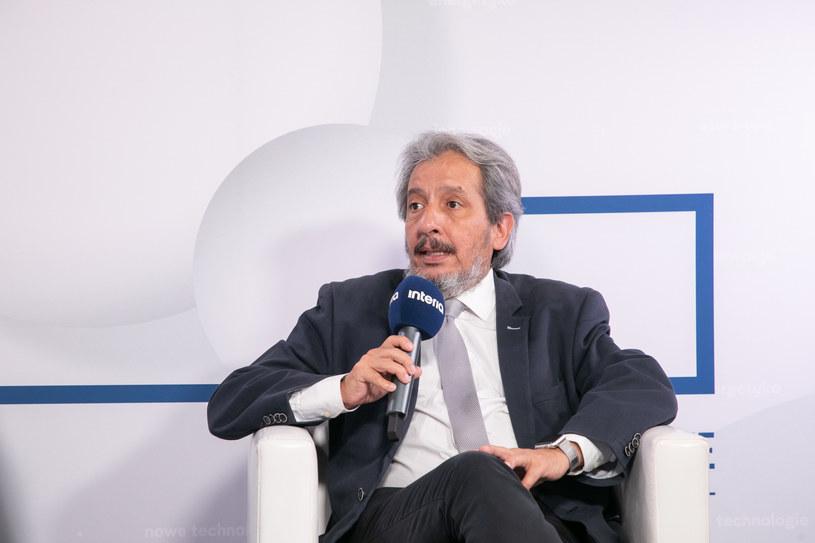 Manuel Pulgar Vidal, dyrektor ds. klimatu i energii Światowego Funduszu na rzecz Przyrody (WWF). /Fot. Ireneusz Rek /INTERIA.PL