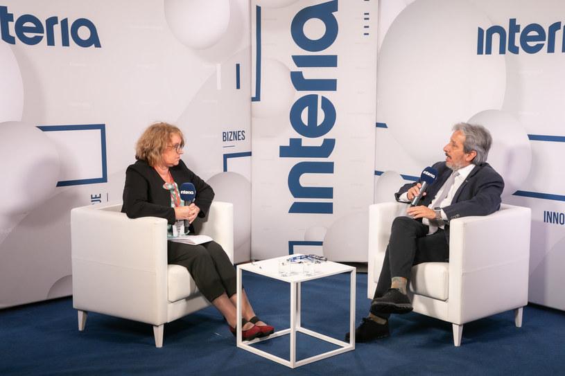 Manuel Pulgar Vidal, WWF w studiu Interii /Fot. Ireneusz Rek /INTERIA.PL