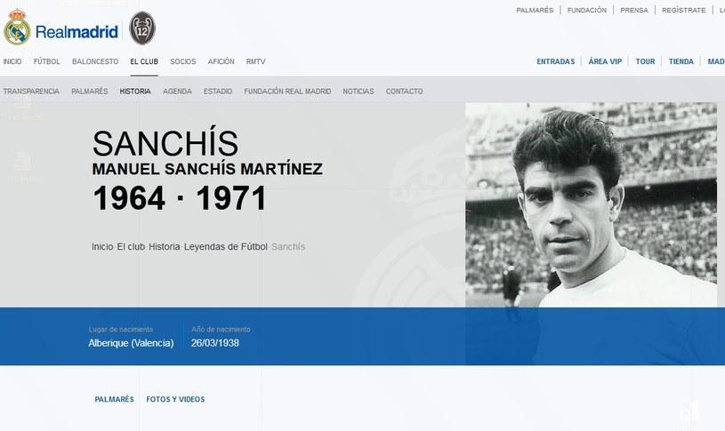 Manuel Sanchis Martinez; źródło: realmadrid.com /