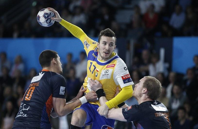 Manuel Strlek w meczu z Montpellier HB /PAP/EPA