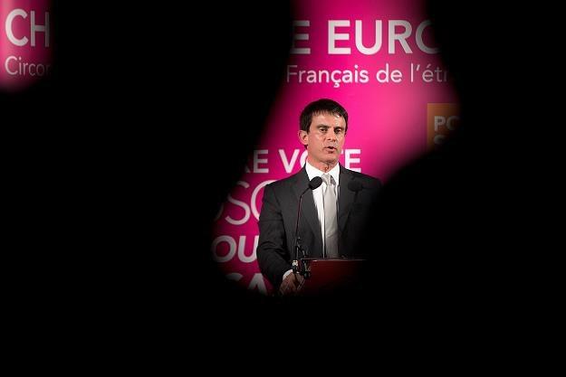 Manuel Valls, premier Francji /AFP