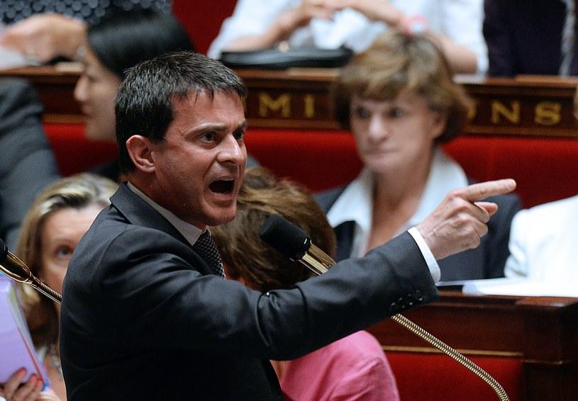 Manuel Valls /AFP