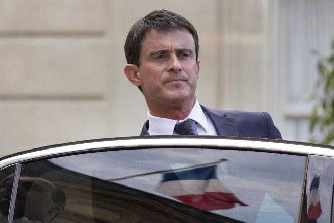 Manuel Valls /ETIENNE LAURENT /PAP/EPA