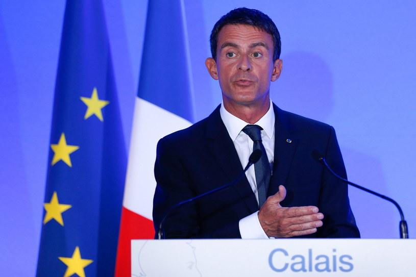 Manuel Valls /PAP/EPA