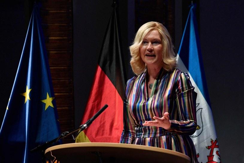 Manuela Schwesig, premier Meklemburgii-Pomorza Przedniego /AFP