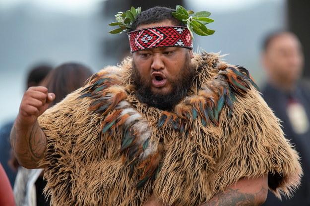 Maorysi to autochtoniczny lud Nowej Zelandii /DAVID ROWLAND  /PAP/EPA
