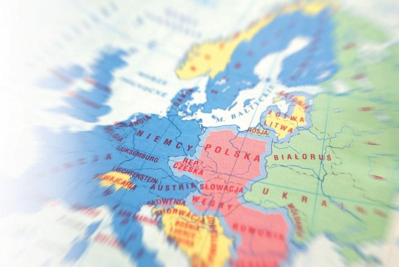 Mapa Europy /Marianna Osko /East News