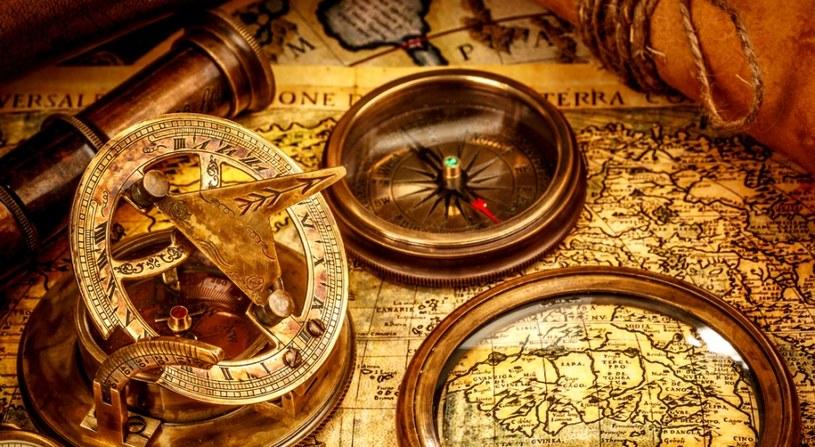 Mapa skarbów wykonana przez Michała Młotka liczy ponad sto pozycji /123RF/PICSEL