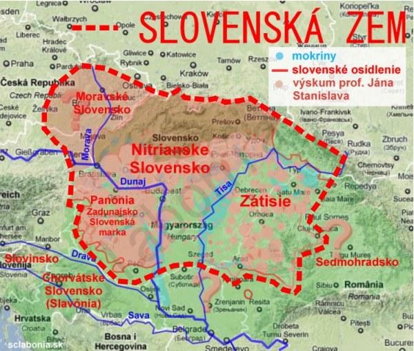 """Mapa """"słowackich ziem"""" z jednego z historycznych forów /INTERIA.PL"""
