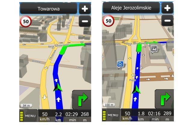 MapaMap dla urządzeń z systemem Android /materiały prasowe