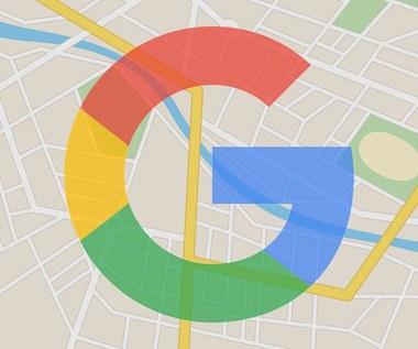 Mapy Google z czatem w aplikacji