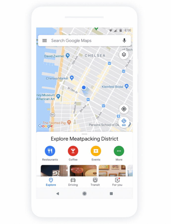 Mapy Google z nowym wyglądem /materiały prasowe