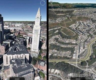 Mapy Google z trójwymiarowymi modelami miast
