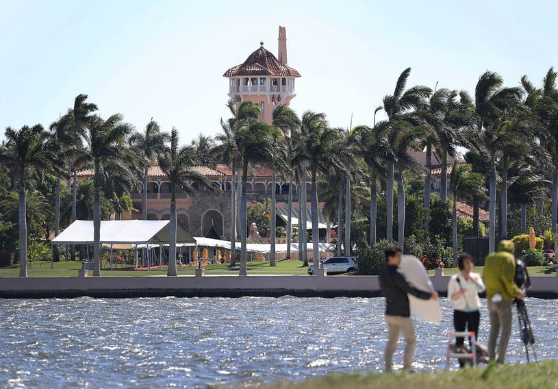 Mar-a-Lago w Palm Beach /JOE RAEDLE / GETTY IMAGES NORTH AMERICA  /AFP