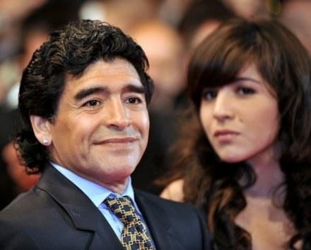 Maradona zadedykował wygraną ze Szkocją swojej córce /INTERIA.PL/PAP