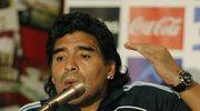 """Maradona zły, bo zespół """"Wszy"""" zniszczył boisko"""