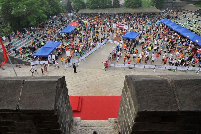 Maraton na Murze Chińskim /AFP