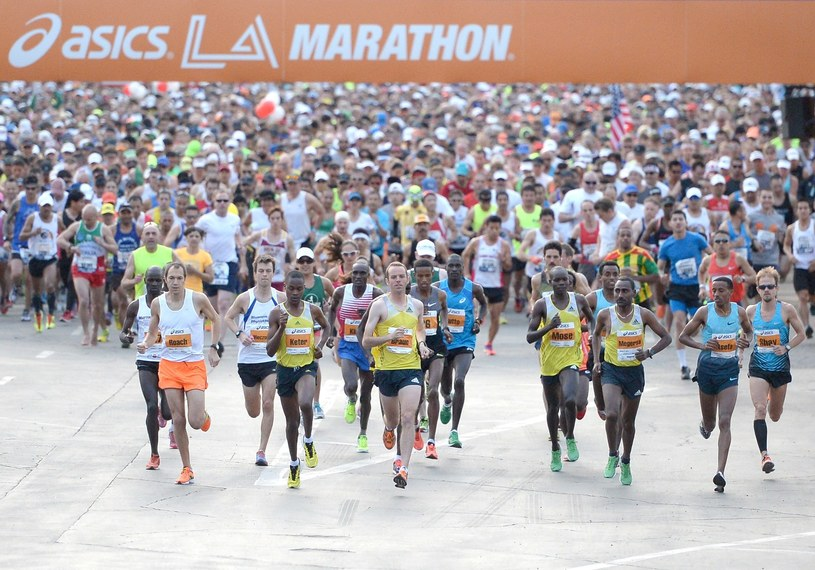Maraton w Los Angeles /AFP