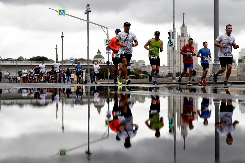 Maraton w Moskwie /Newspix