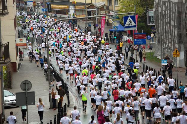 Maraton Warszawski odbywa się w stolicy od 1979 roku /Grażyna Myślińska /Agencja FORUM