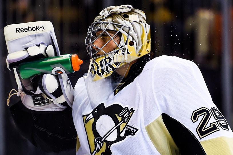 Marc-Andre Fleury, bramkarz Pittsburgh Penguins /Alex Goodlett /Getty Images