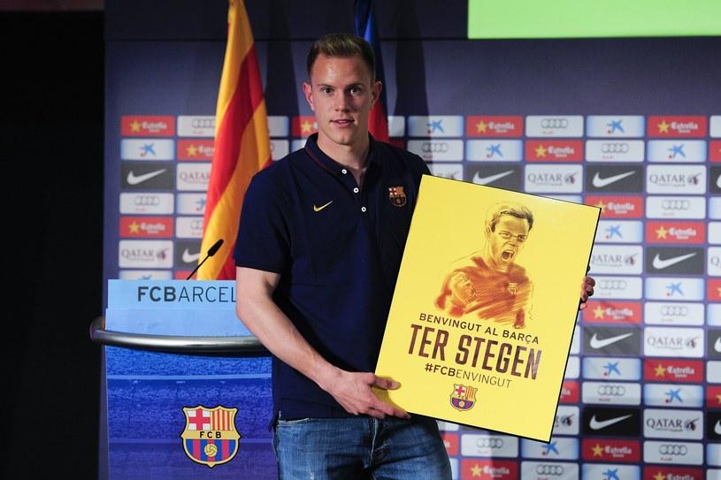Marc-Andre ter Stegen został zaprezentowany na Camp Nou /AFP
