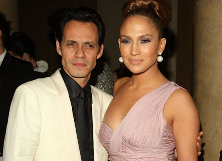 Marc Anthony i Jennifer Lopez - fot. Stephen Lovekin /Getty Images/Flash Press Media