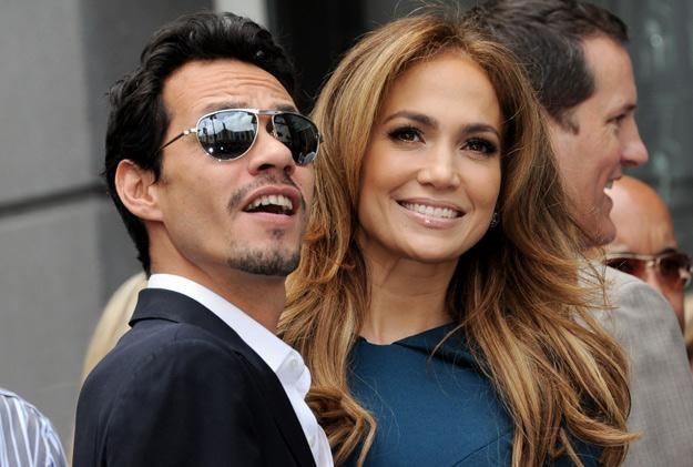 Marc Anthony i Jennifer Lopez na dwa miesiące przed rozwodem - fot. Kevin Winter /Getty Images/Flash Press Media