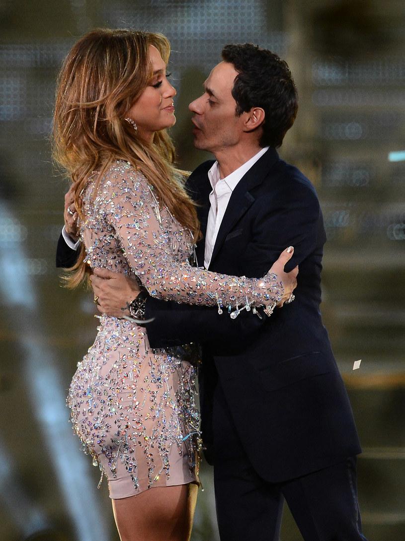 Marc Anthony i Jennifer Lopez utrzymują przyjacielskie stosunki /Ethan Miller /Getty Images