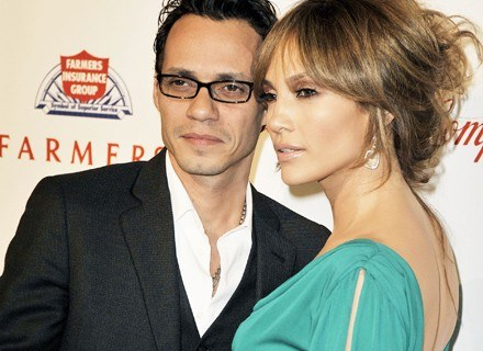 Marc Anthony i Jennifer Lopez /Getty Images/Flash Press Media
