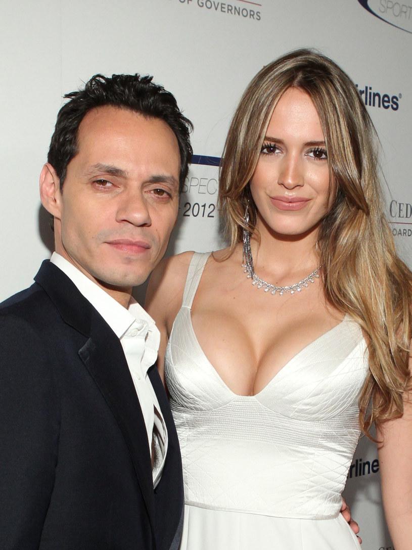 Marc Anthony i Shannon De Lima pobrali się w prywatnej posiadłości /Mark Davis /Getty Images