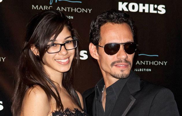 Marc Anthony z córką Arianą.  /Agencja FORUM
