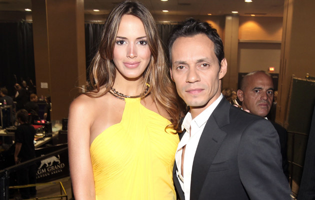 Marc Anthony z narzeczoną /Christopher Polk /Getty Images