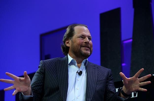 """Marc Benioff, prezes Salesforce i właściciel tygodnika """"Time"""" /AFP"""