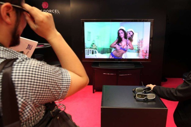 Marc Dorcel chce, aby kanał Erotica TV HD trafił do kolejnych krajów /AFP