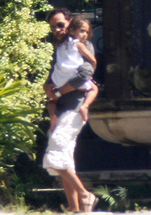 Marc i Jennifer spędzili weekend przed jego urodzinami wraz z dziećmi. Fot. Pixel Photo Inc.  /Splashnews