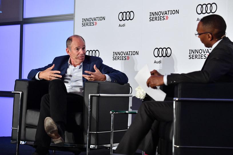 Marc Randolph, założyciel Netflixa, na konferencji Audi w Toronto, 2018 /George Pimentel /Getty Images