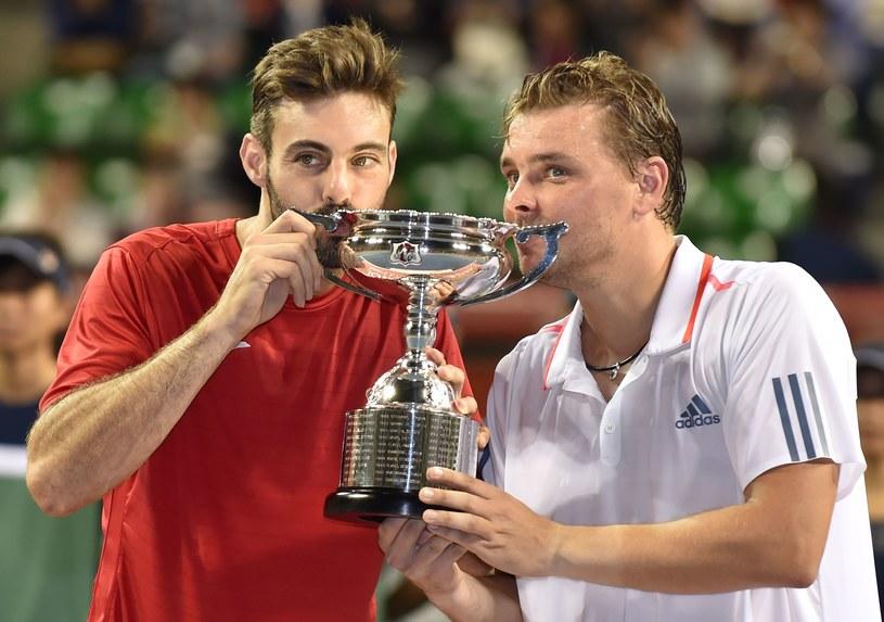 Marcel Granollers i Marcin Matkowski wygrali turniej w Tokio /AFP