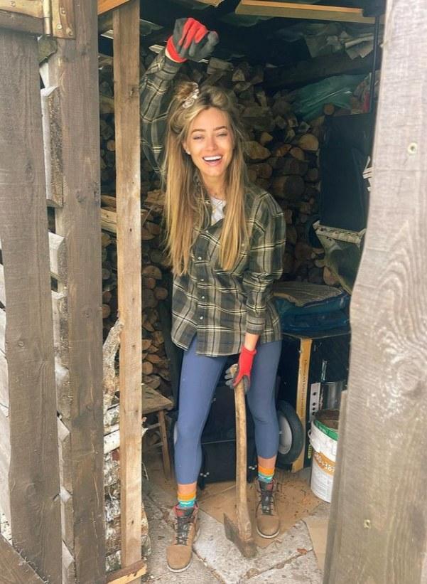 Marcelina Zawadzka odwiedziła swój dom rodzinny /Instagram/marcelina_zawadzka /Instagram