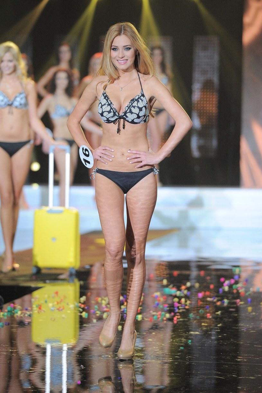 Marcelina Zawadzka podczas konkursu Miss Polonia 2011 /Piotr Wygoda /East News