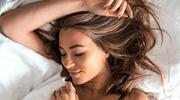 Marcelina Zawadzka pozowała w łóżku