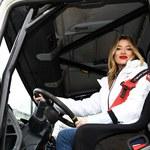 Marcelina Zawadzka: Prawo jazdy na ciężarówkę