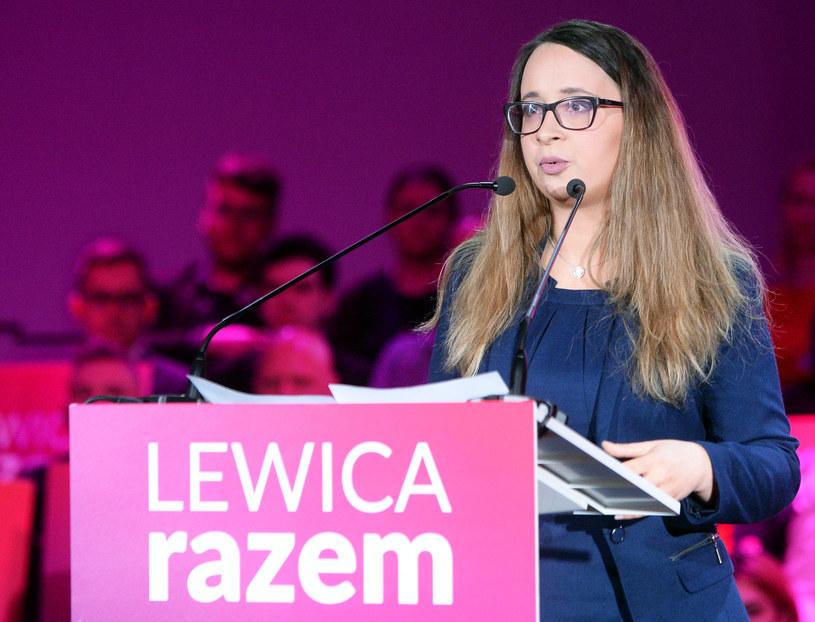 Marcelina Zawisza z zarządu Lewicy Razem /Jan Bielecki /East News