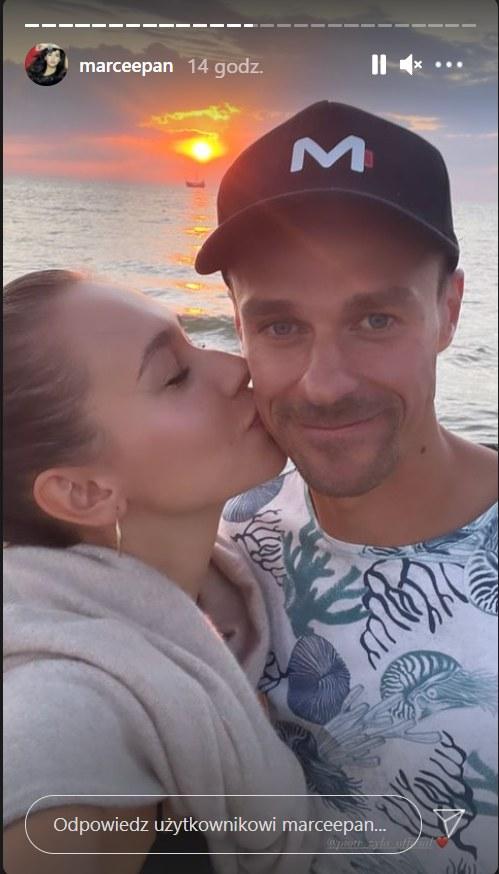 Marcelina Ziętek i Piotr Żyła /Instagram /materiały prasowe