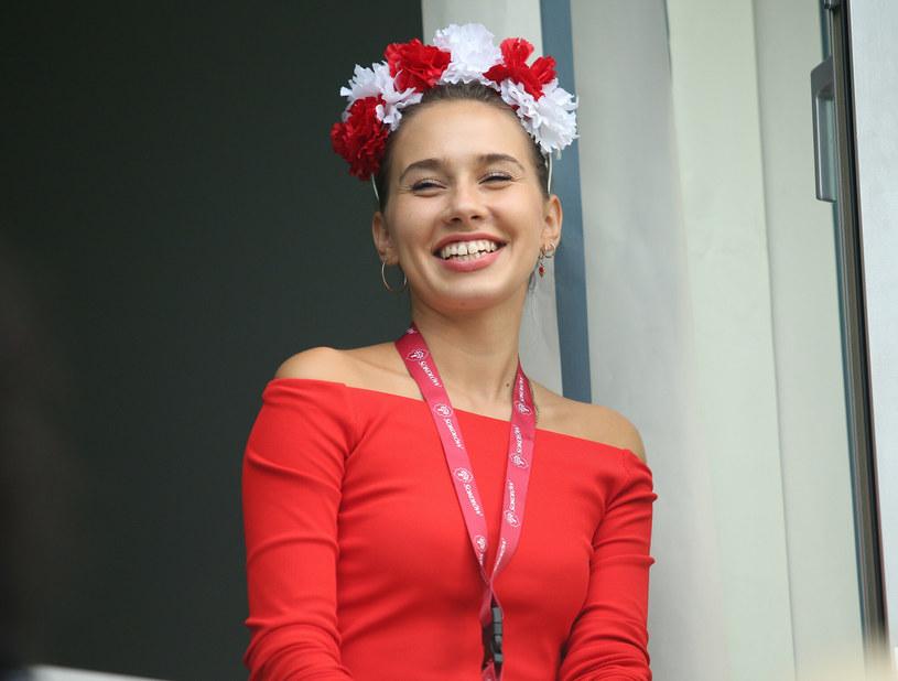 Marcelina Ziętek kibicuje w Wiśle /Damian Klamka /East News