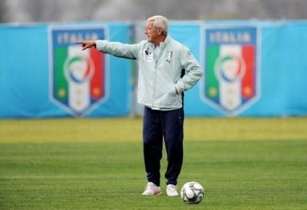 Marcello Lippi, selekcjoner Włoch. /AFP