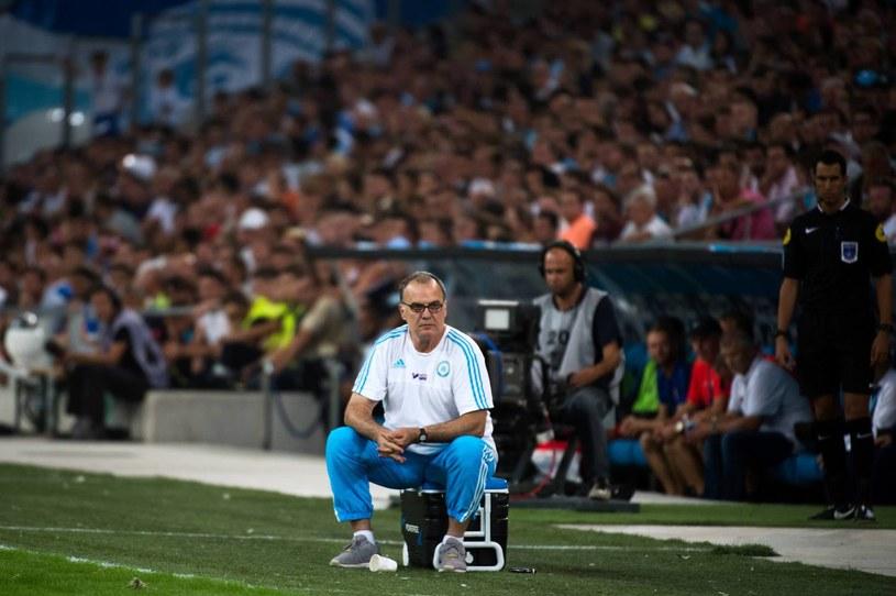 Marcelo Bielsa jako trener Olympique Marsylia /AFP