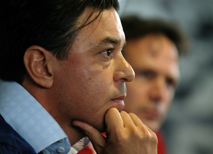 Marcelo Gallardo, trener River Plate /AFP