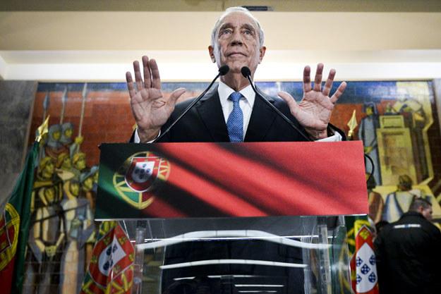 Marcelo Rebelo de Sousa został wybrany na nowego prezydenta Portugalii /AFP