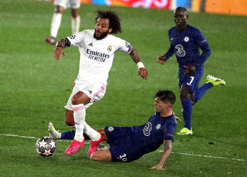 Marcelo w meczu z Chelsea /KIKO HUESCA /PAP/EPA